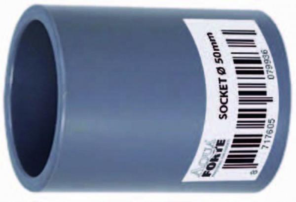 502065 PVC Muffe 32 mm