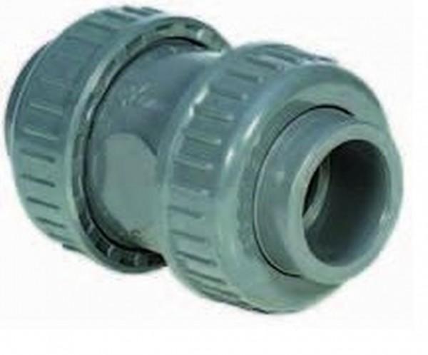 502022 PVC-Rückschlagventil 40mm