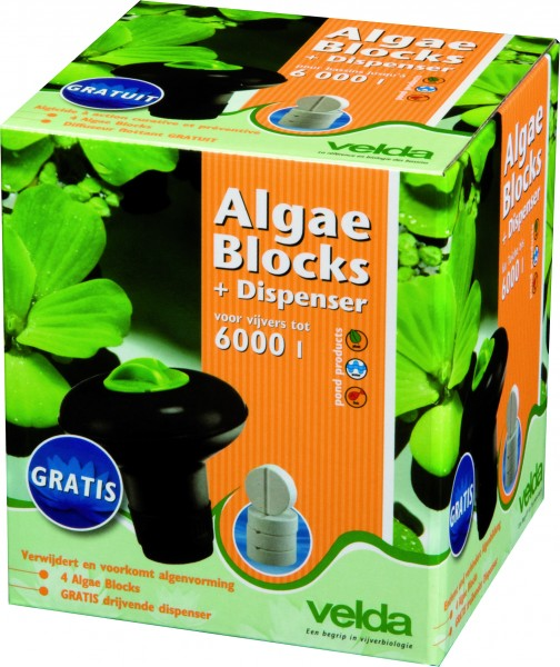 122422 Velda Algae Blocks + Dispenser