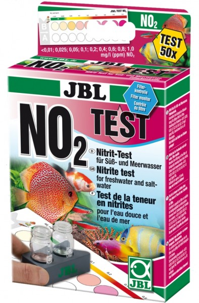 25370 JBL Test-Set NO2, Nitrit-Test für Süßwasser und Salzwasser
