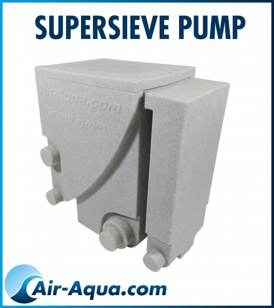 503300 SuperSieve Pump weiß marmoriert