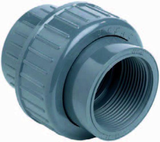 """500000 PVC-Kupplung 3/3 50mm x 1 1/2"""""""