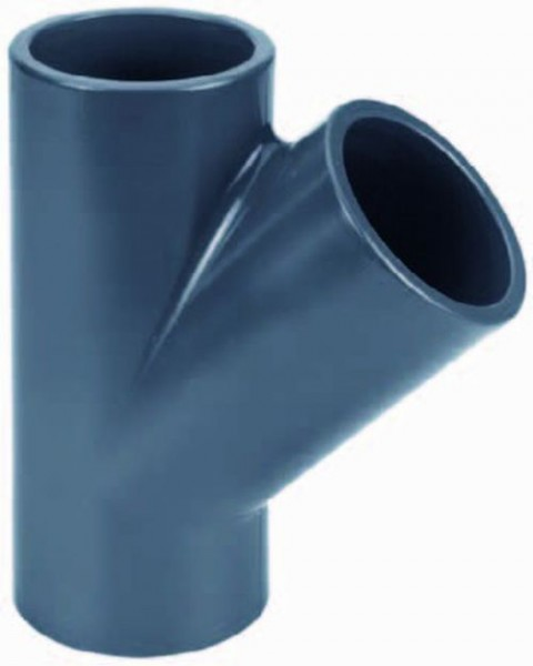 502437 PVC-Y-Stück 125mm
