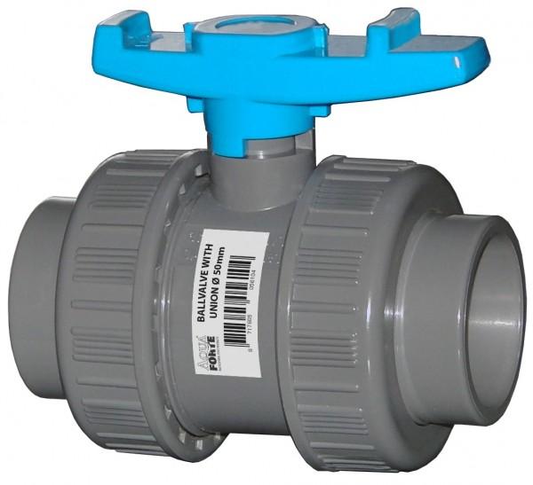 502014 PVC Kugelhahn 32 mm