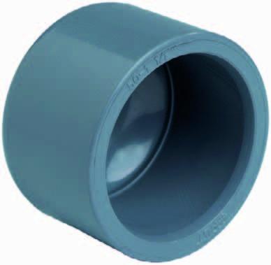 502481 PVC-Klebekappe 125mm