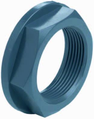 500009 PVC-Mutter mit Bund 2 1/2 Zoll, 72,3mm VDL