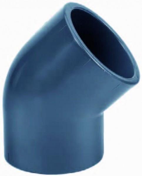 502414 PVC-Winkel 45° 16mm