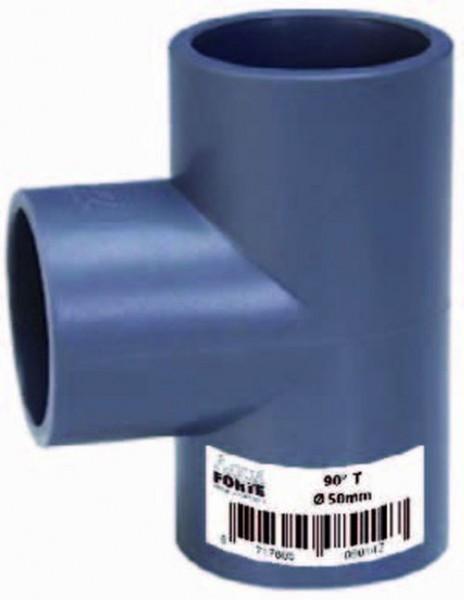 502097 PVC T-Stück 40 mm
