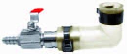 504028 Lufthahn Anschluss Anschlussset Luftpumpen 9mm