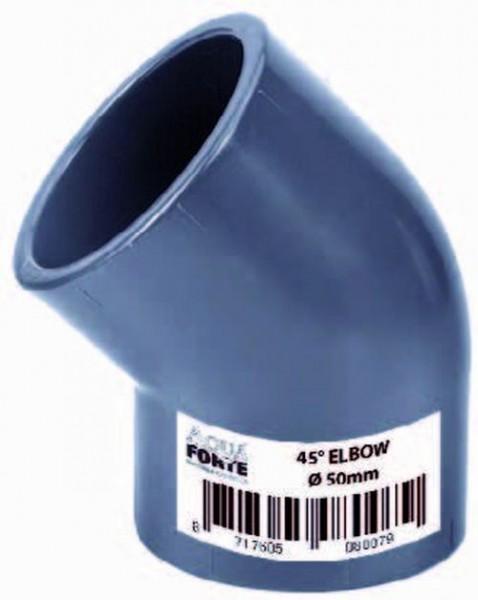 502084 PVC Winkel 45° 40 mm