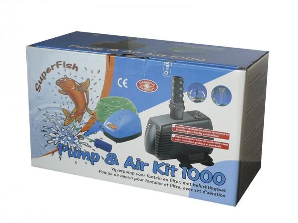 7060005 SF Air Pump Kit 1000 Pumpe + Belüftungsset