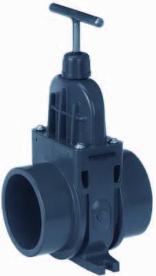 502523 PVC-Zugschieber 125mm AUßEN VDL