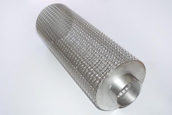 747591 CCV -  Pumpenvorfilter / Filterkorb GROB 420x160mm x 2,5 Zoll IG