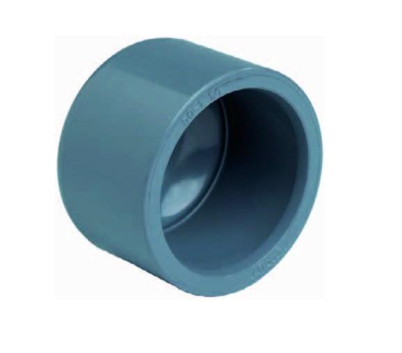 502080 PVC Klebekappe 75 mm