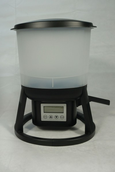 10380010 Aqualogistik Pondlink Futterautomat mit Timer Akku