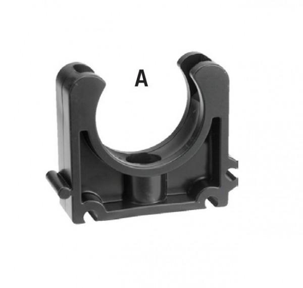 502143 PVC-Rohrklemme 10mm