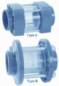 502190 PVC-Sichtglas 75 mm